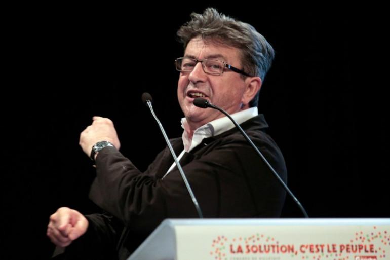 Jean-Luc Mélenchon, candidat à la présidentielle 2017.