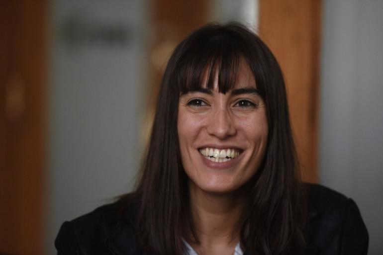 La députée Paula Forteza à Buenos Aires le 5 juin 2017
