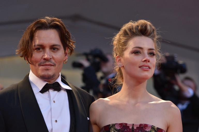 """Johnny Depp et Amber Heard s'étaient rencontrés sur le tournage de """"Rhum Express"""""""