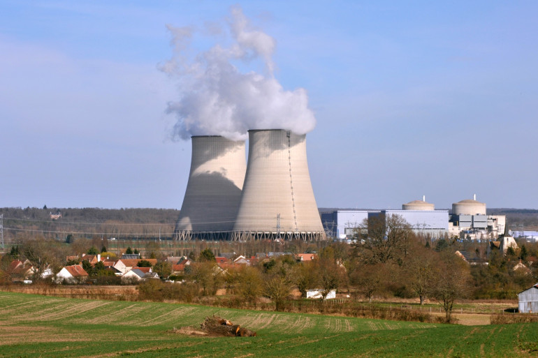 La centrale nucléaire de Belleville-sur-Loire, en France (image d'illustration)