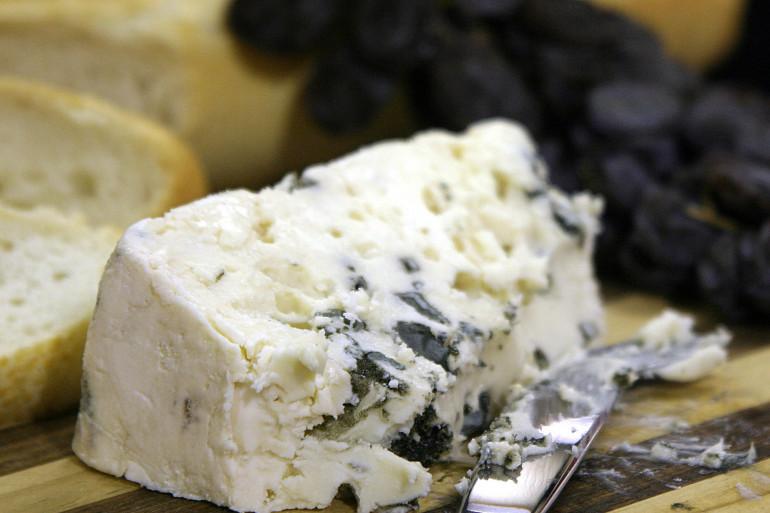 Du fromage Roquefort (illustration)