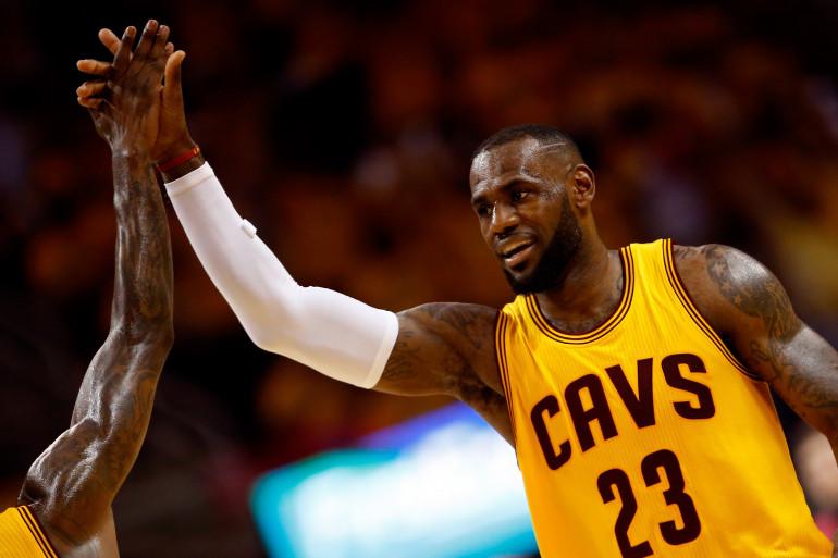 LeBron James a porté Cleveland jusqu'au titre NBA