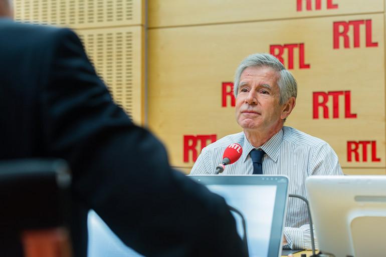Alain Minc, invité de RTL, le 16 octobre 2015 (archives)