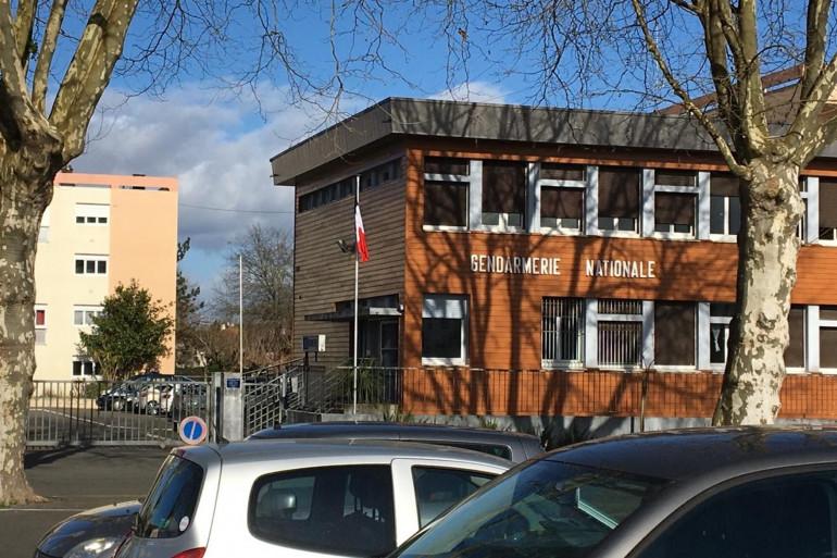 La gendarmerie de Dax (Landes).