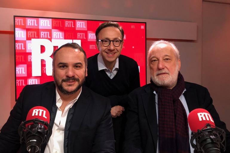 F.X. Demaison, Stéphane Bern et François Berléand