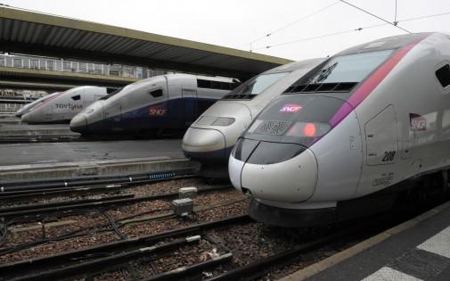 Des TGV de la SNCF à la gare de Lyon (photo d'illustration)