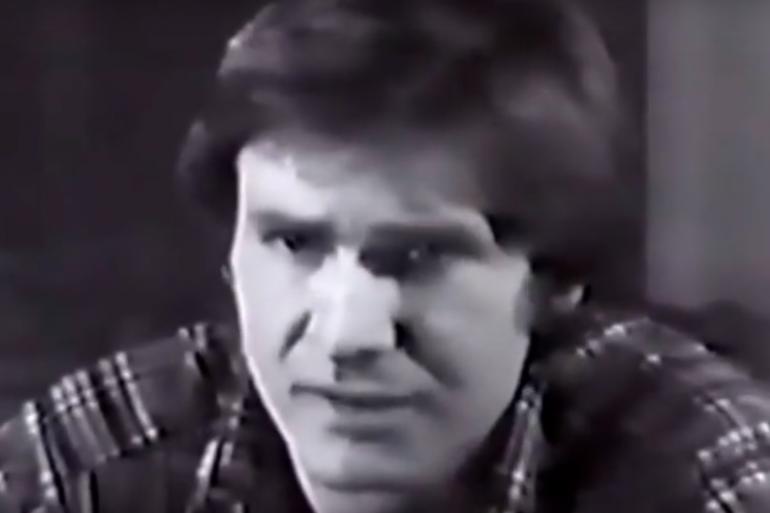 """Harrison Ford lors du casting de """"Star Wars : Un nouvel espoir"""""""