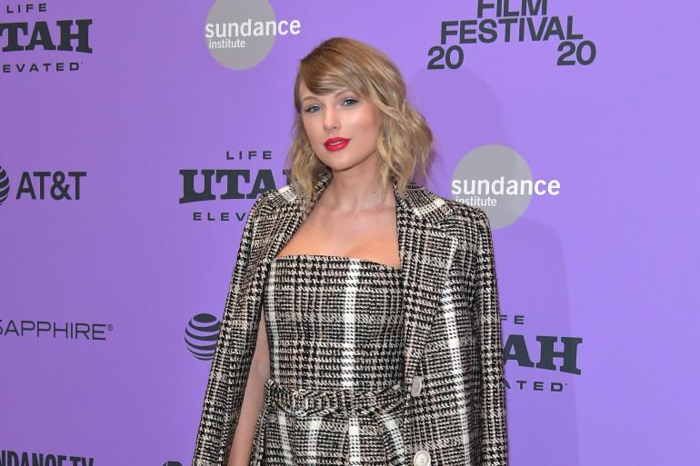 """Taylor Swift lors de l'avant-première de """"Miss Americana"""" au Sundance Festival."""