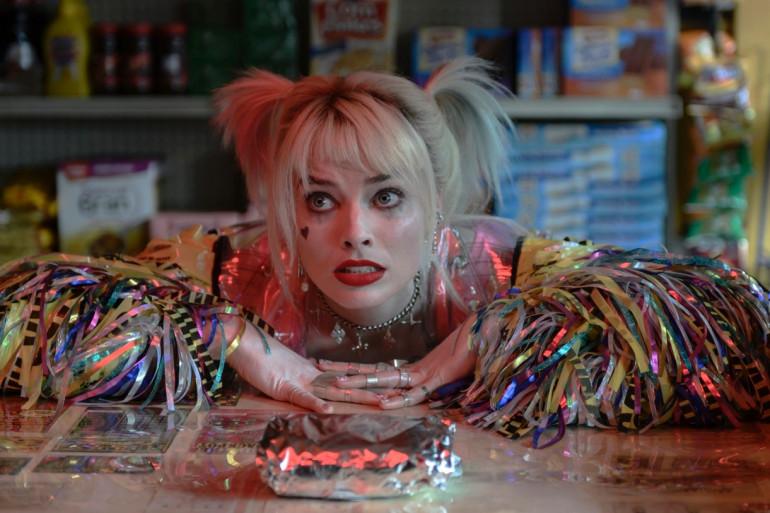 """Margot Robbie en tant qu'Harley Quinn dans """"Bids of Prey"""""""