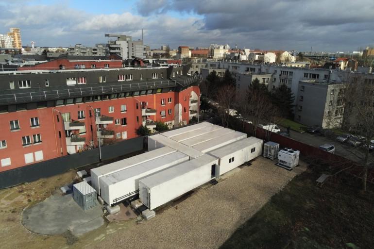 Agricool a inauguré une ferme urbaine à La Courneuve (Seine-Saint-Denis) mardi 11 février 2020