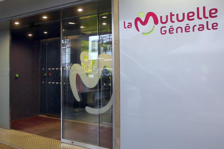 Photo de l'entrée du siège social de la Mutuelle Générale
