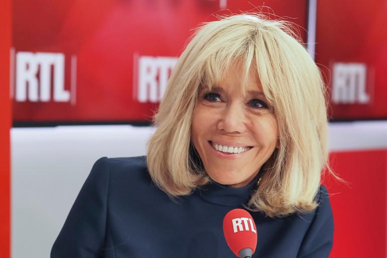 Brigitte Macron était l'invitée de RTL.