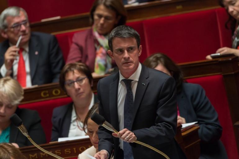Manuel Valls à l'Assemblée nationale, le 31 mai 2016
