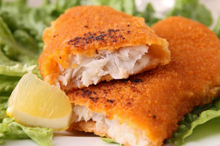 Du poisson pané