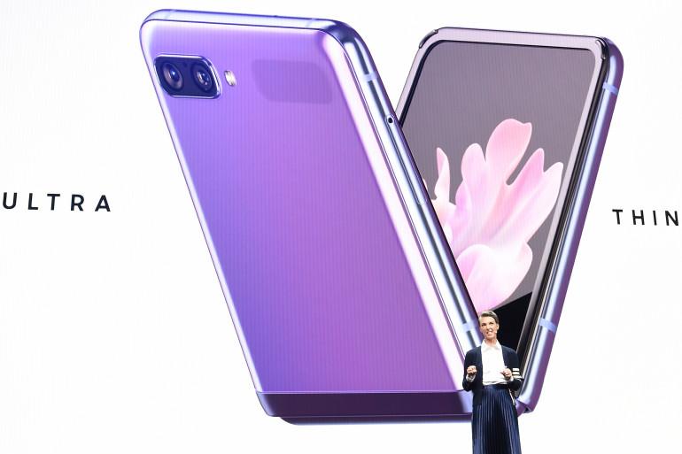 Le Samsung Galaxy Z Flip est disponible en France depuis le 14 février 2020