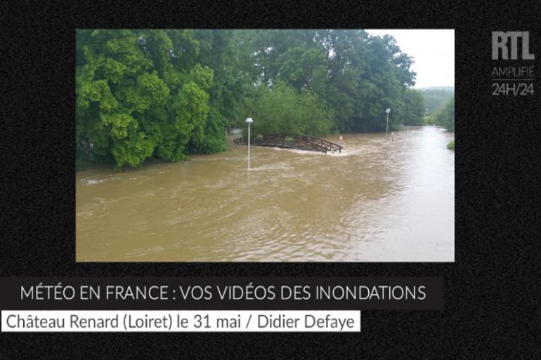 Météo en France : vos vidéos des inondations