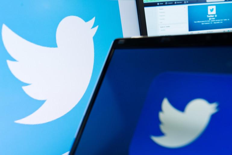 Le logo du réseau social Twitter