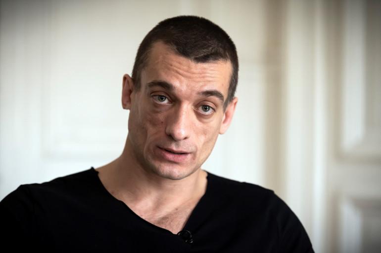Piotr Pavlensky le 14 février 2020 à Paris