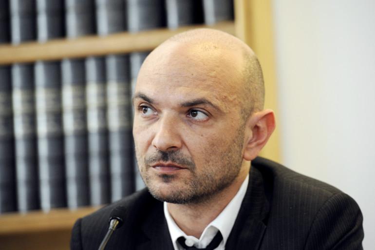 L'avocat Richard Malka à Paris. (Illustration)
