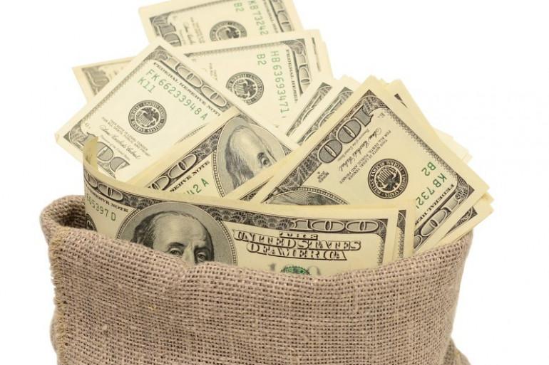 Un sac de billets (image d'illustration)
