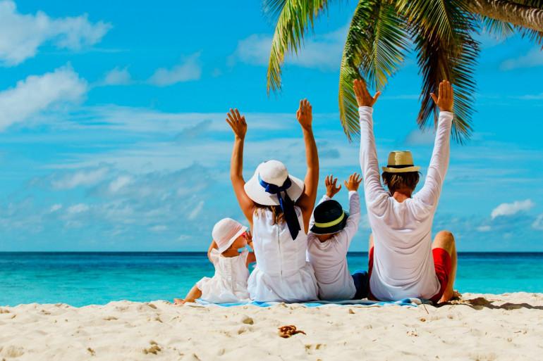 Vacances en famille (illustration)