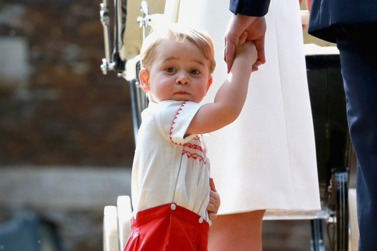 Le prince George a déjà un sosie à son âge