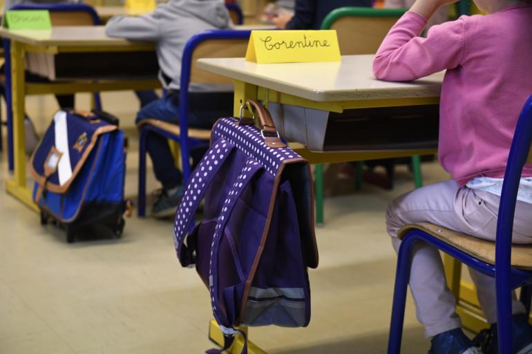 Des élèves dans une école primaire (illustration)