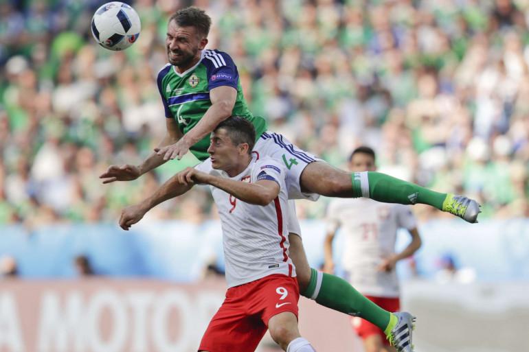 Robert Lewandowski contre l'Irlande du Nord ce dimanche 12 juin