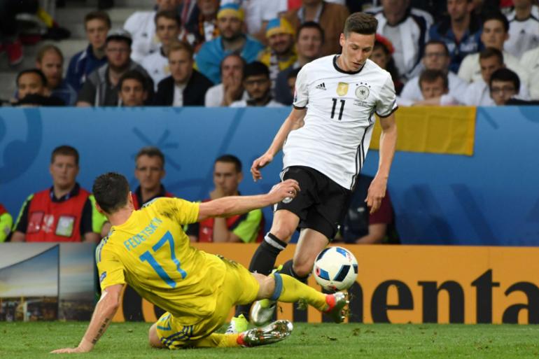 Julian Draxler et les Allemands ont dominé l'Ukraine