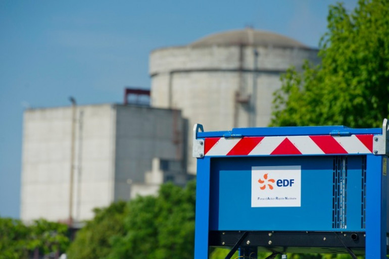 Un réacteur nucléaire EDF à Chinon le 26 juin 2013.