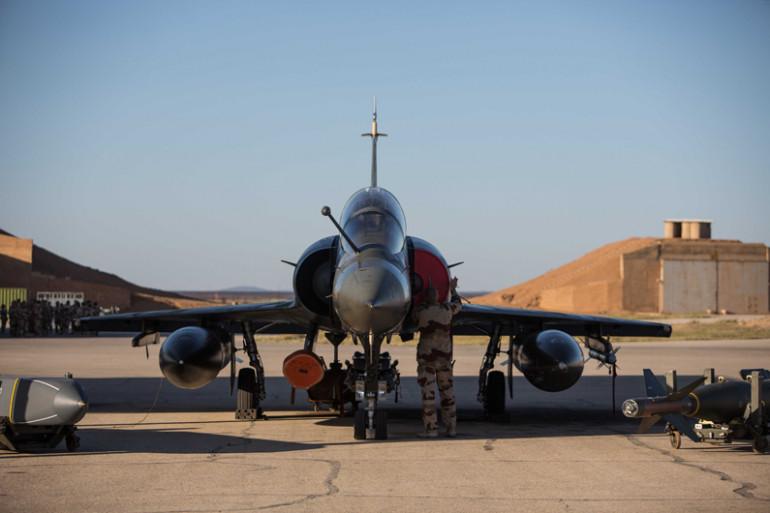 Un avion de combat Rafale (illustration)