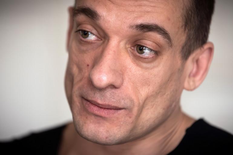 Piotr Pavlenski est à l'origine de la diffusion des vidéos de Benjamin Griveaux