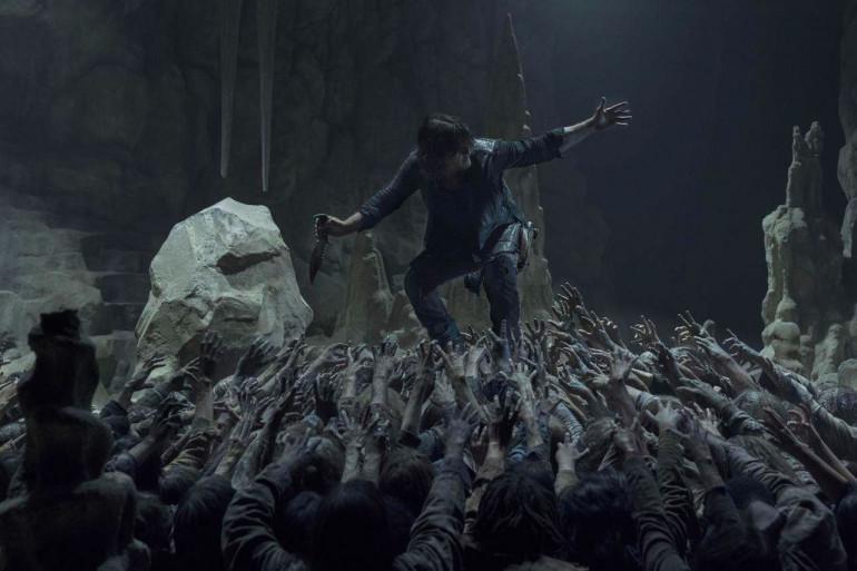 """Daryl dans l'épisode 9 de la saison 10 de """"The Walking Dead"""""""