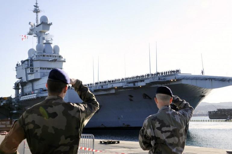 Le porte-avion Charles de Gaulles en 2011 (photo d'illustration)