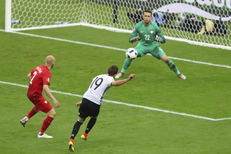 Mario Götze et les Allemands n'ont pas réussi à tromper Lukasz Fabianski