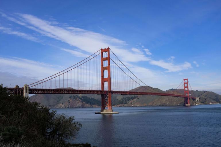 Le pont du Golden Gate à San Francisco