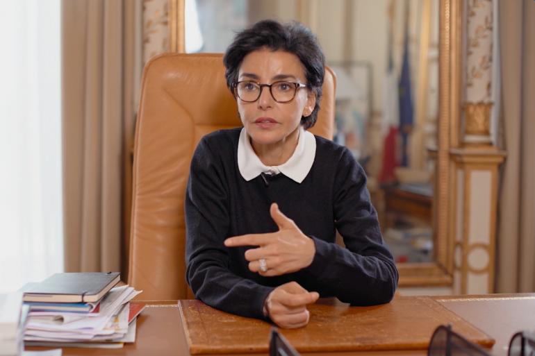 """Rachida Dati dans le documentaire """"Madame la maire"""", diffusé sur Téva vendredi 13 décembre."""