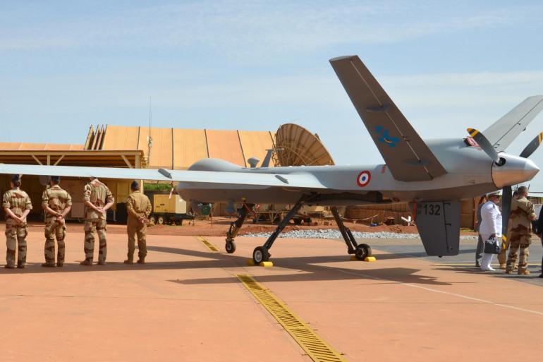 Un drone Reaper utilisé par l'armée française (Illustration).