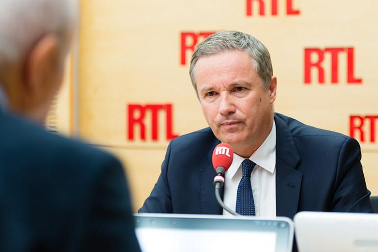 Nicolas Dupont-Aignan, invité de RTL le 22 juin 2016