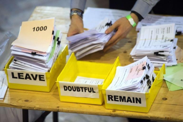 Le Brexit l'a emporté avec 51,9% des voix selon les résultats officiels