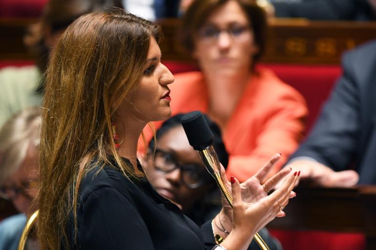Marlène Schiappa à l'Assemblée nationale, le 10 septembre 2019.