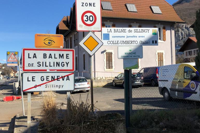 Le village de La Balme-de-Sillingy, en Haute-Savoie