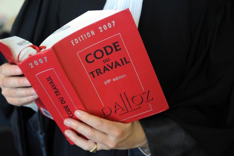 Le Code du travail (Illustration).