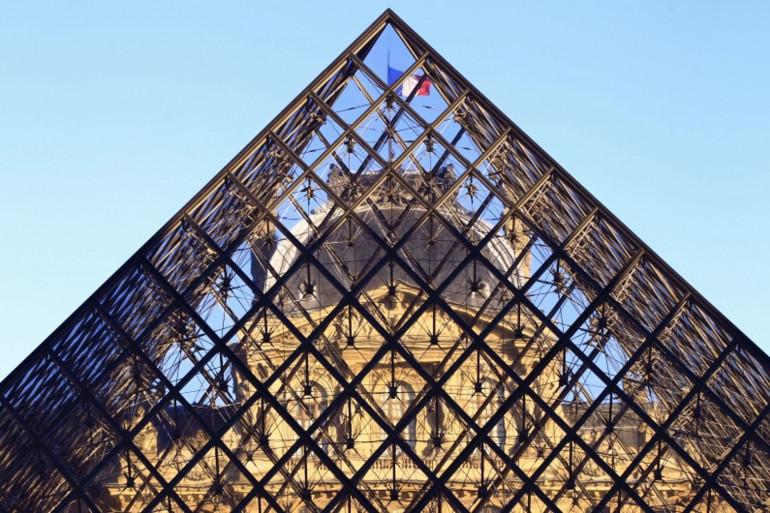 Le musée du Louvre (illustration)