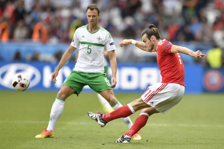 Gareth Bale contre l'Irlande du Nord, samedi 25 juin