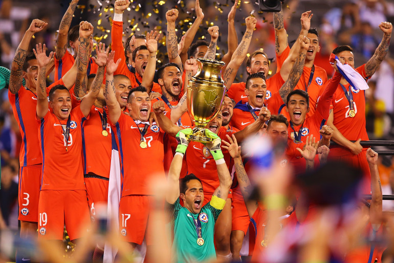 Le Chili savoure sa victoire en finale de la Copa America 2016