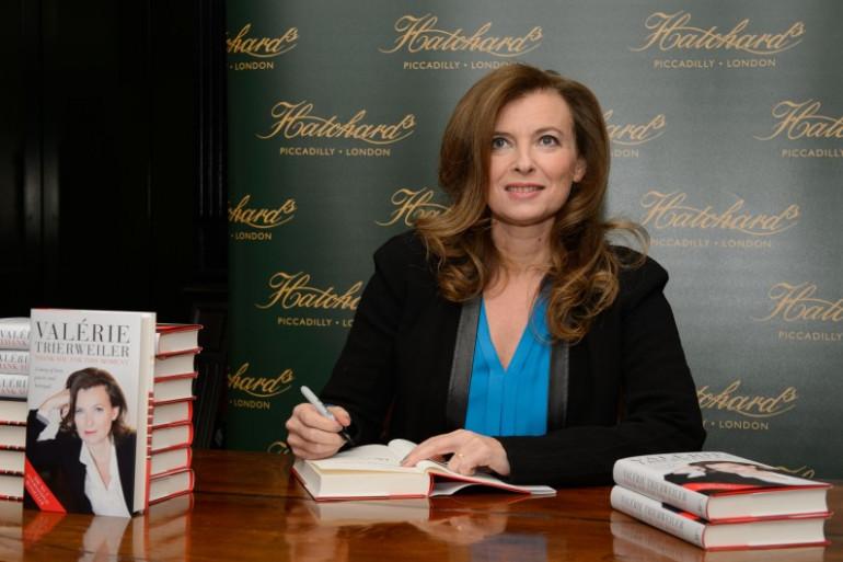 Valérie Trierweiler à Londres, le 25 novembre 2014.