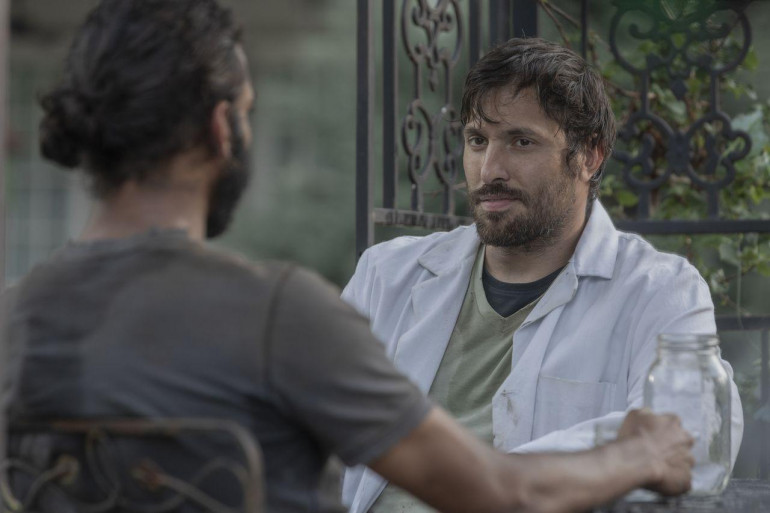 """Dante dans la saison 10 de """"The Walking Dead"""""""