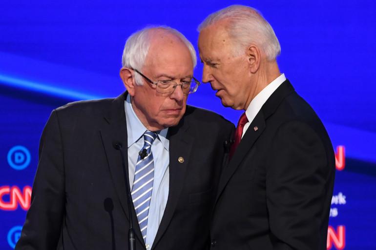 """Bernie Sanders et Joe Biden sont les deux favoris des sondages pour """"Super Tuesday"""""""