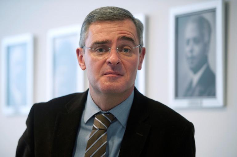 Marc Joulaud à la mairie de Sablé-sur-Sarthe, le 6 février 2012